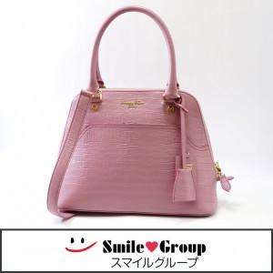 3 サマンサタバサ デラックス 2WAY 型押し ハンドバッグ ショルダーバッグ 人気 かわいい 鞄  (1)